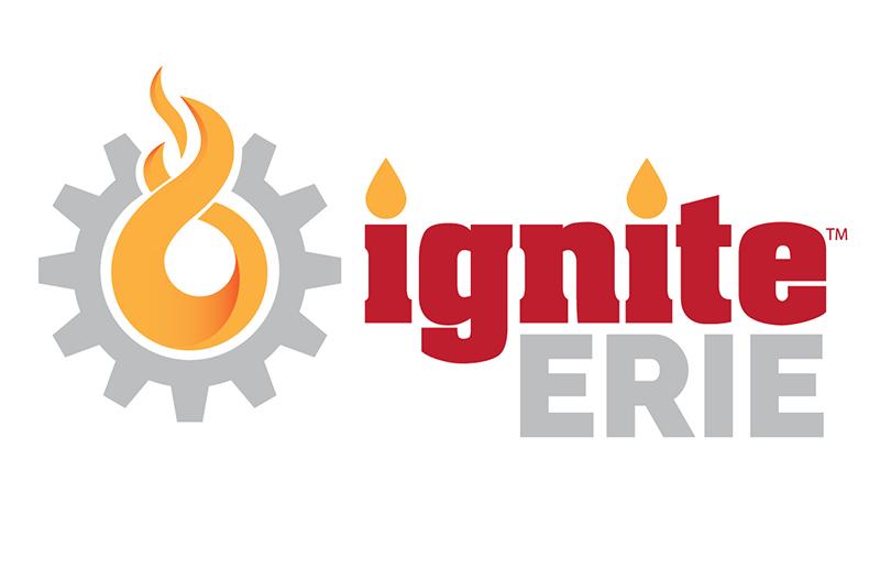 Ignite Erie Logo - ECGRA