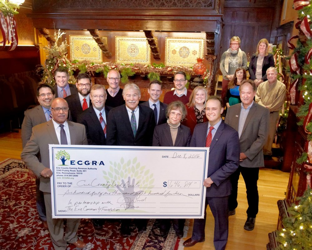 ECGRA Invests $646,814 in 9 Erie County Lead Assets