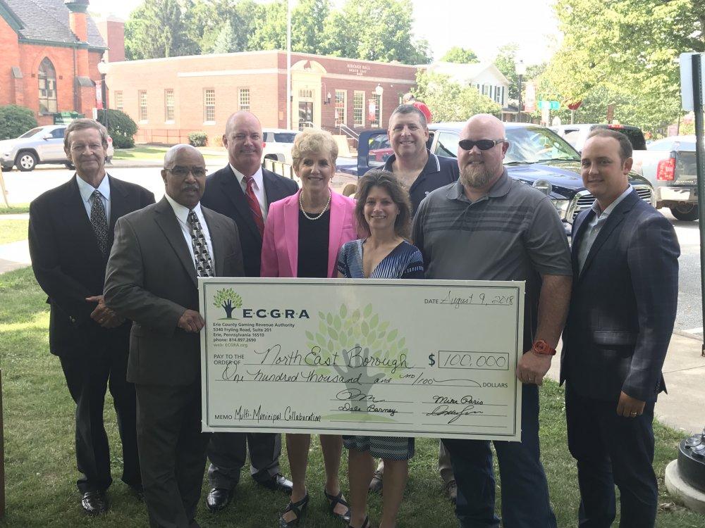 ECGRA Multi-Municipal Collaboration Grant supports North East Borough, Township service Consolidation Efforts