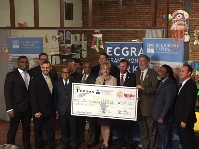 ECGRA Expands Investment in Successful Erie Urban Entrepreneur Fund, Partners with Bridgeway Capital to Launch $5 Million Erie Inclusive Fund